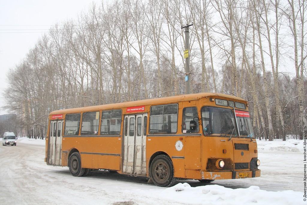 Приём автобусов